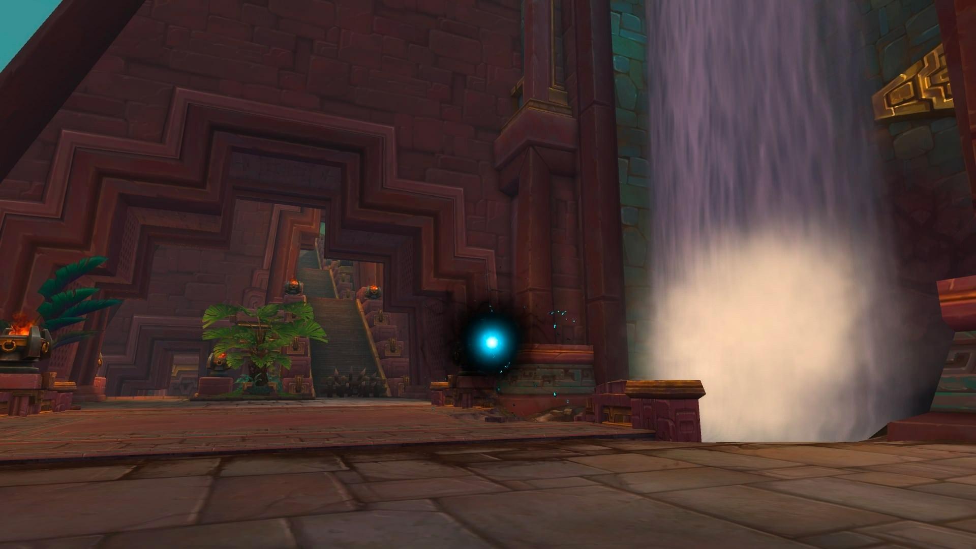 Un portail permet à l'Alliance d'entrer dans la grande pyramide