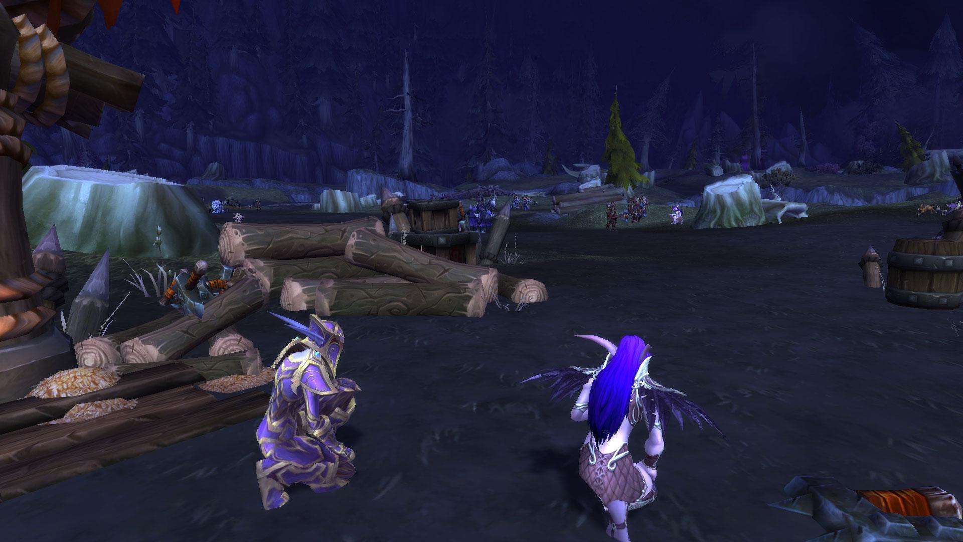 Les Elfes de la nuit capturés