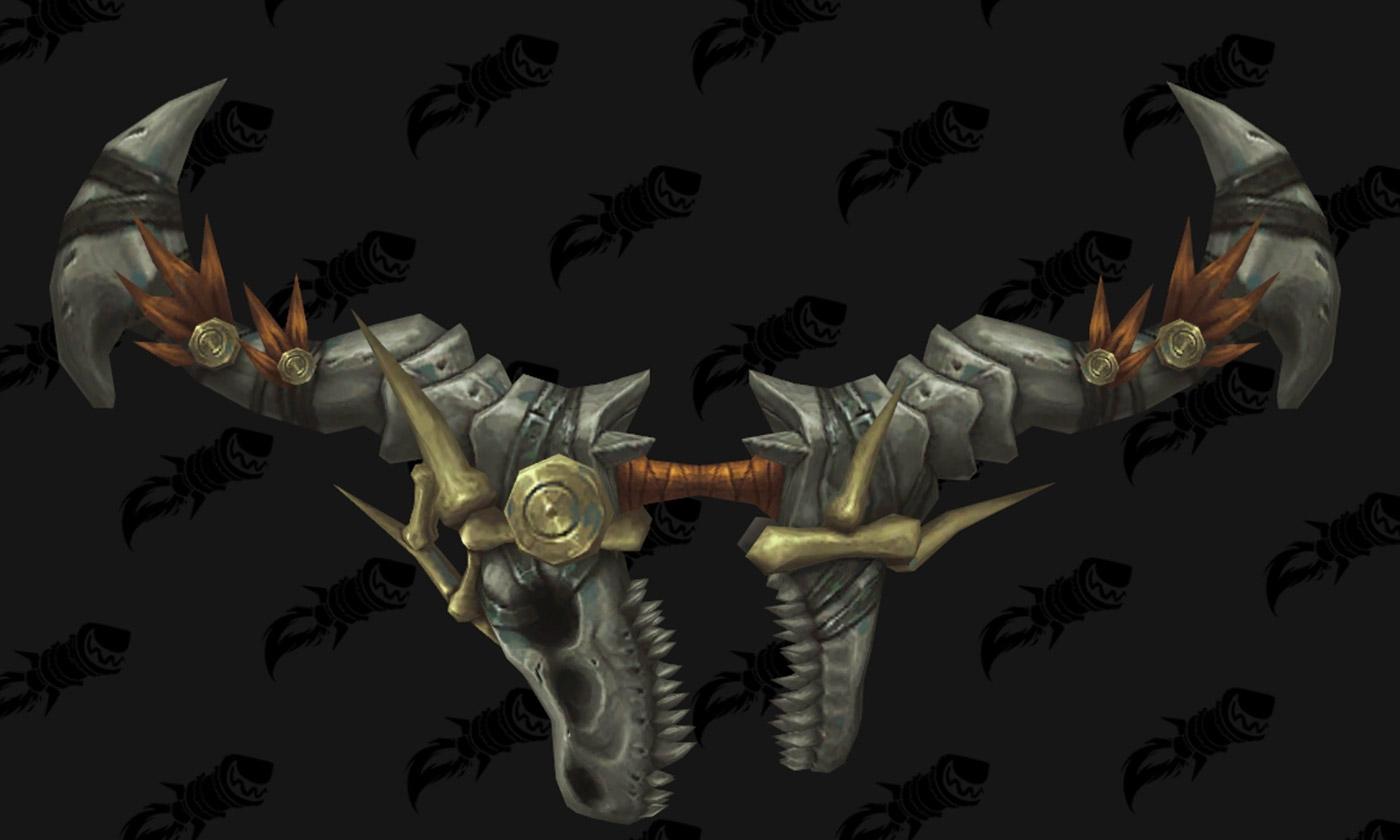 Modèle d'arc - Siège de Zuldazar