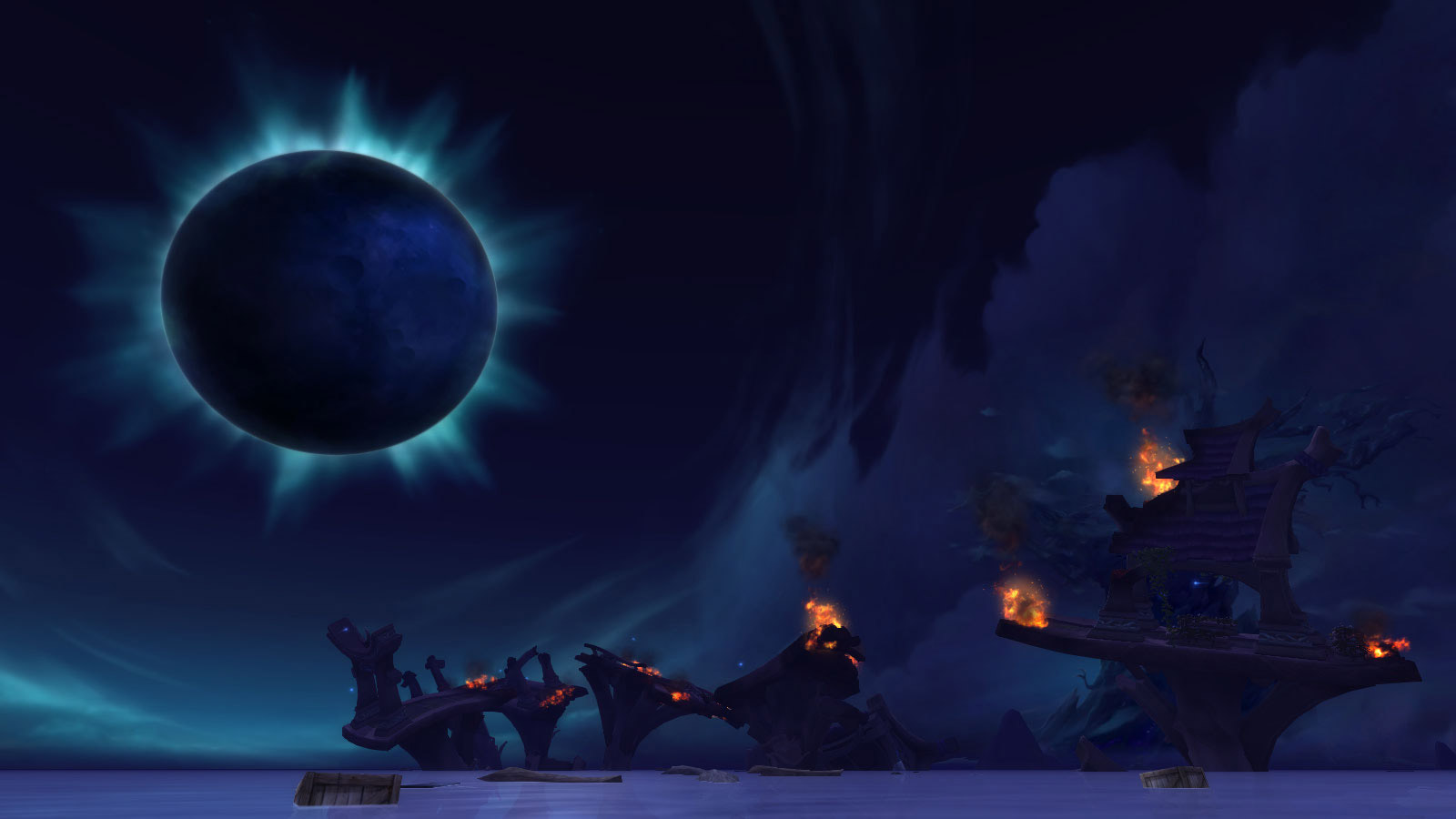 La Bataille de Sombrivage du patch 8.1 de World of Warcraft