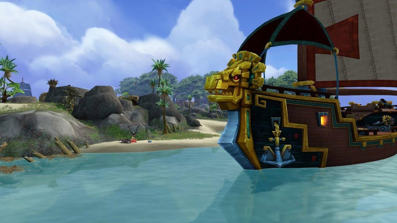 Blizzard souhaite que l'exploration des îles ait une rejouabilité très importante