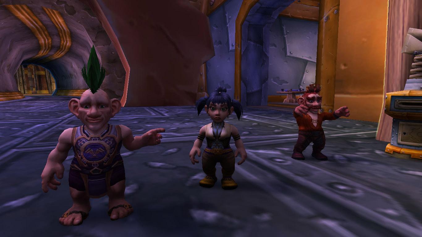 Suivez les indications des Gnomes