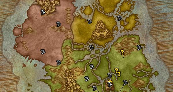 patch 8.1 : debloquer tous les points de vol pour vos personnages secondaires