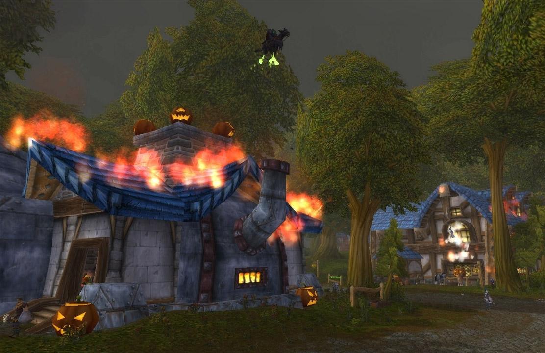 Afin de valider le haut-fait, votre faction doit éteindre tous les feux du village !