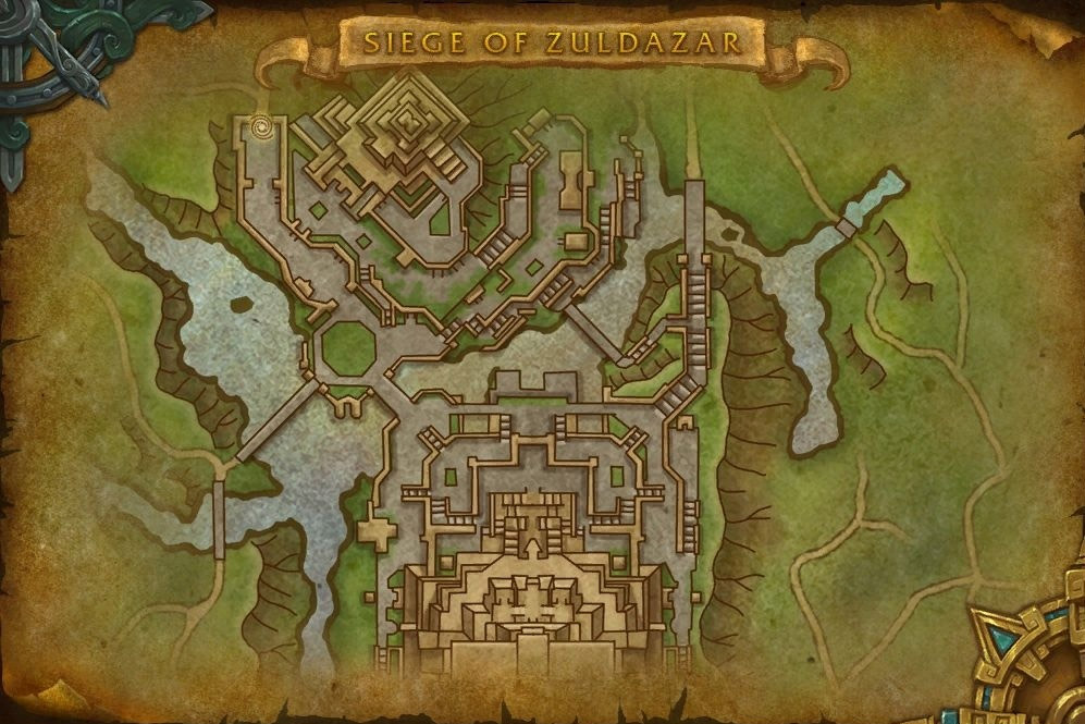 L'Alliance attaque Dazar'alor