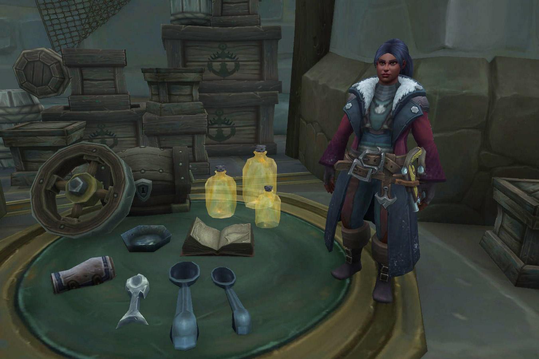 Capitaine Klarisa pour les joueurs de l'Alliance