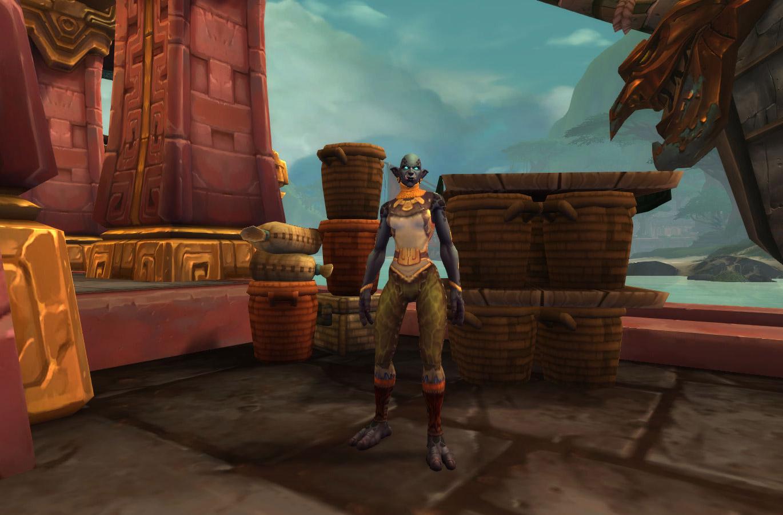 Capitaine Zen'taga pour les joueurs de la Horde