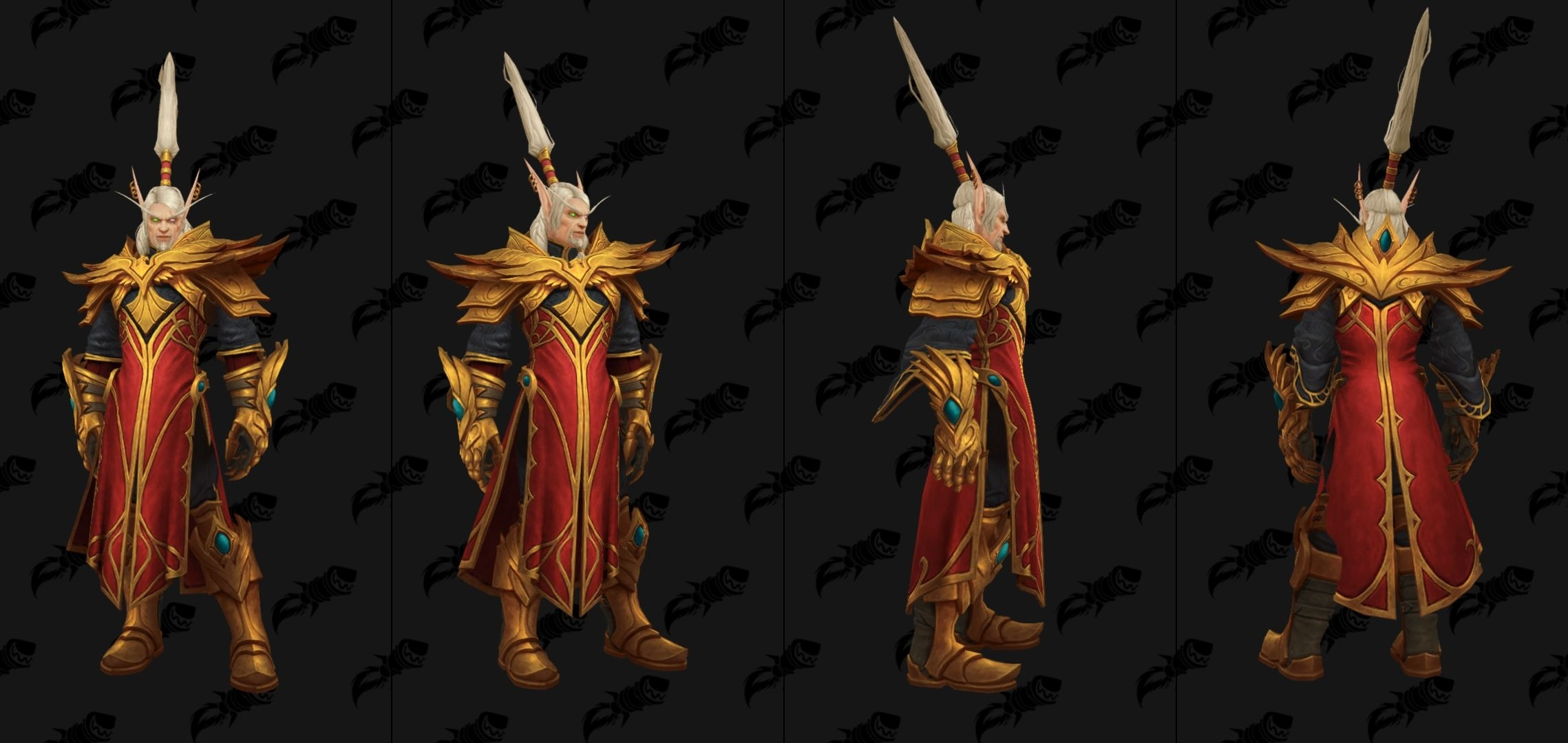 Modèle de Lor'themar Theron au patch 8.1 de World of Warcraft