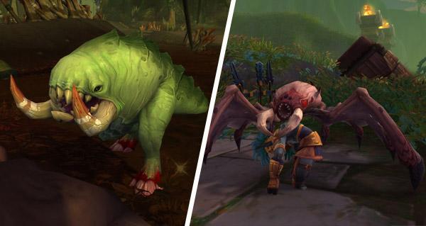 patch 8.1 : les chasseurs pourront dompter les croggs et les sanguivores