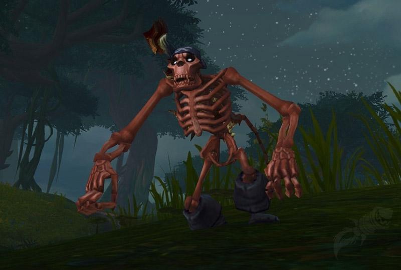 La banane de mauvais mojo vous transforme en squelette de singe