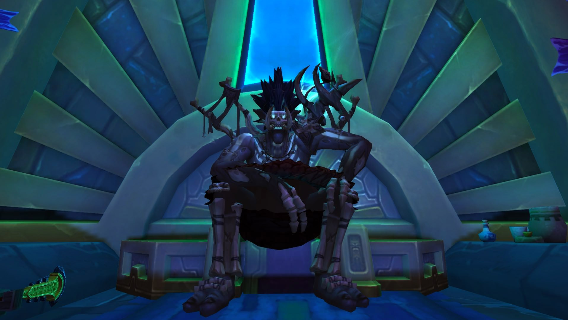Vous obtenez des souffles de Bwonsamdi en triomphant des boss de la bataille de Dazar'alor