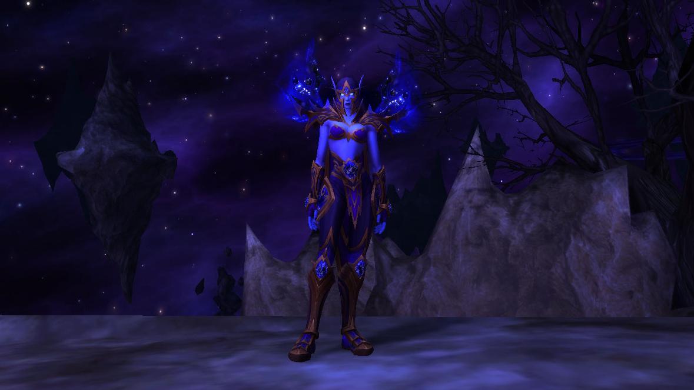 Ensemble Ren'dorei : armure ancestrale des Elfes du Vide