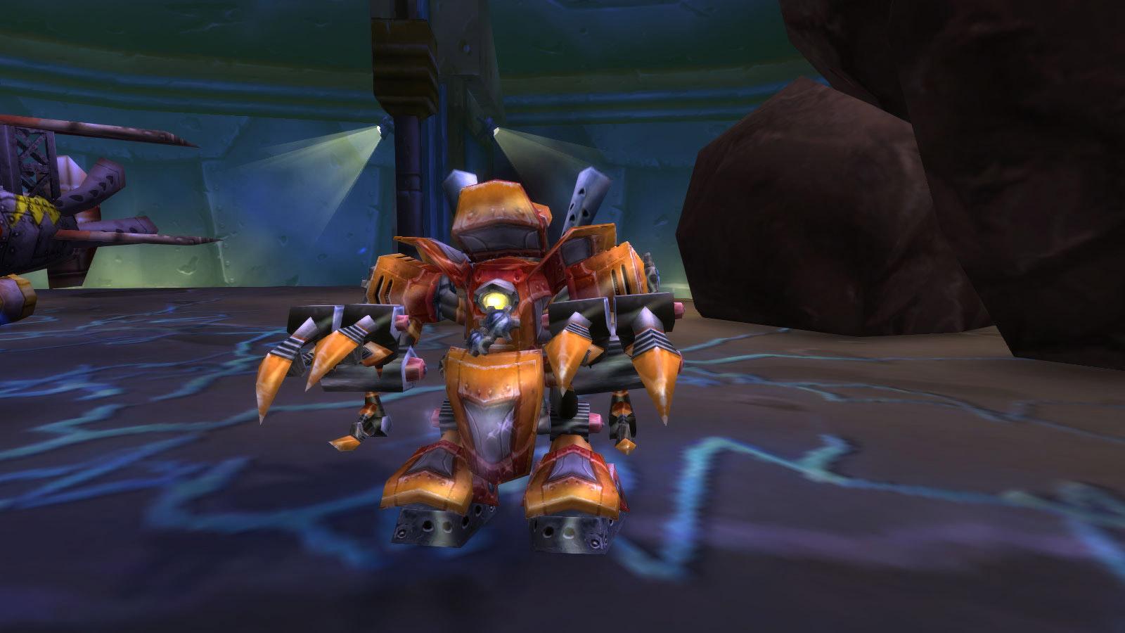 Boss Prototype d'Ennuy-o-tron au défi des mascottes de Gnomeregan