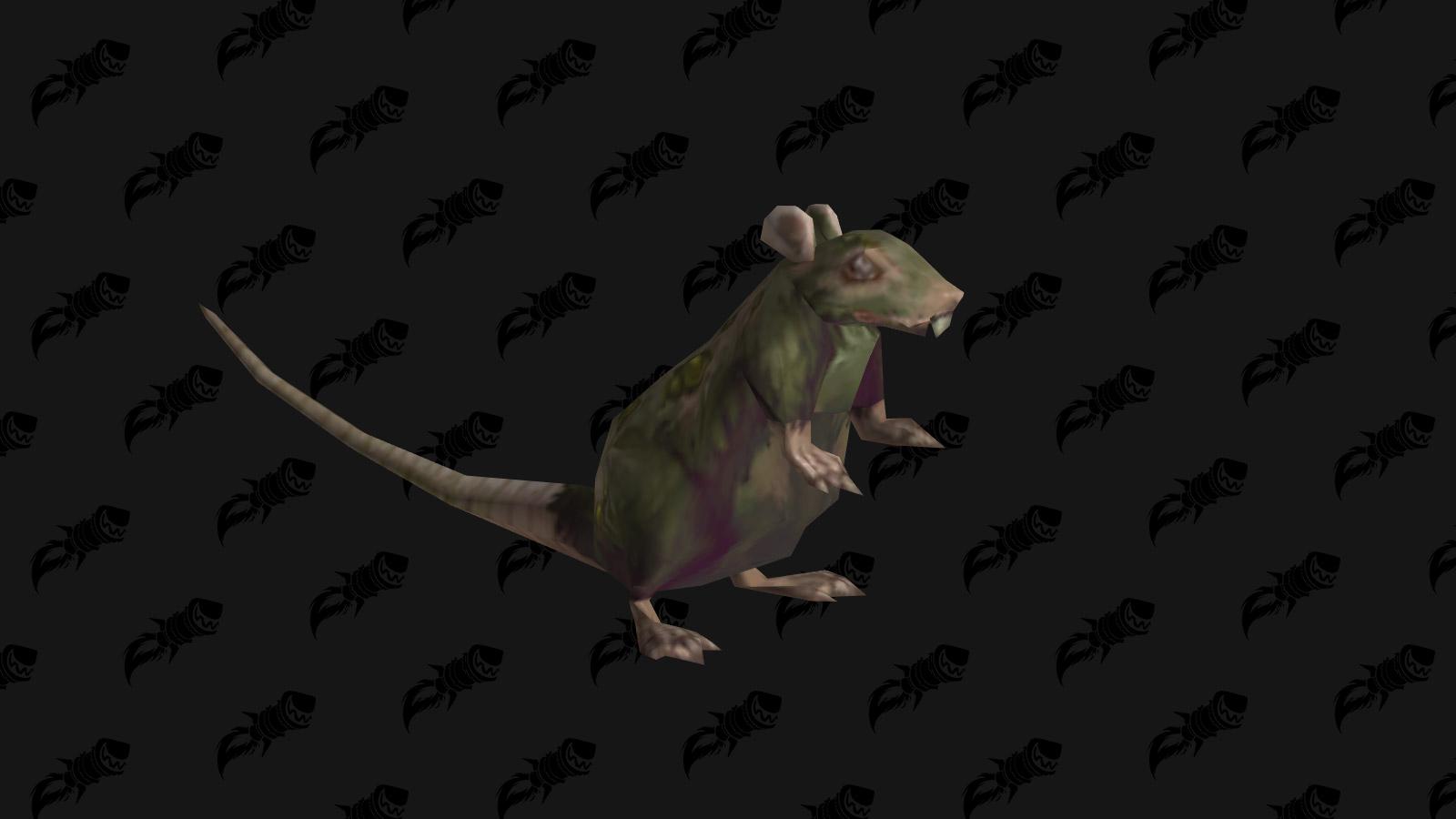 Rat lépreux : Défi de mascottes Gnomeregan
