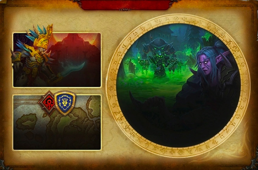 Journal de l'aventurier au patch 8.1
