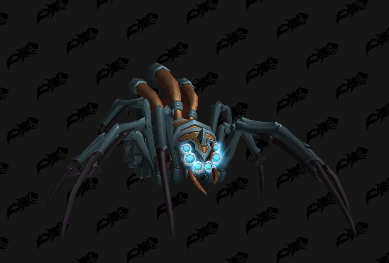 Mascotte Rebuilt Mechanical Spider
