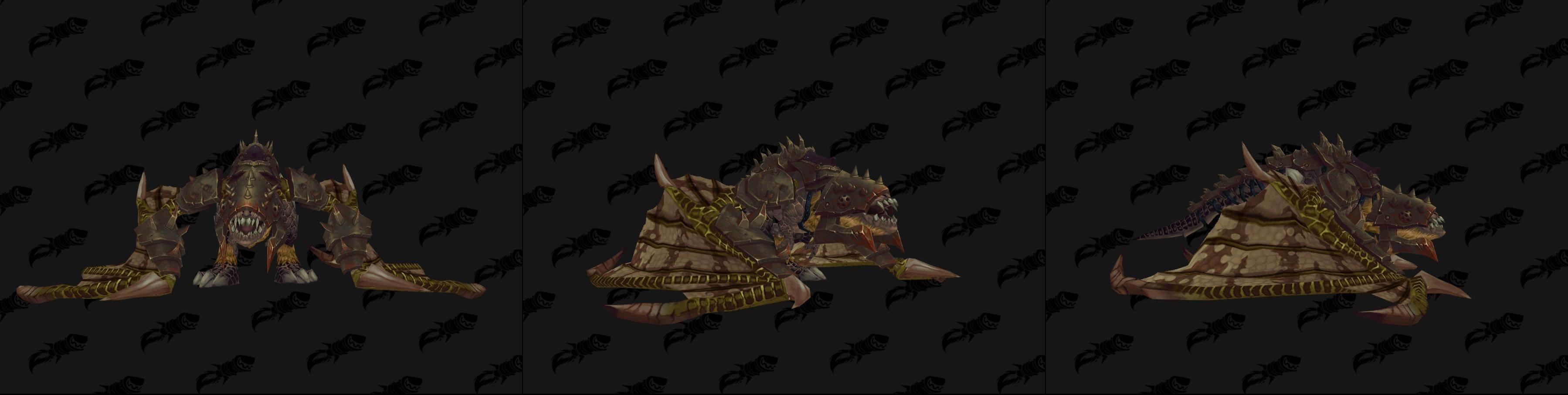 La monture volante de gladiateur s'obtient avec une côte de 2400 +