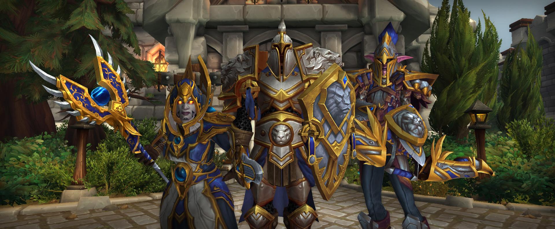 L'Alliance a accès au front de guerre de la bataille de Stromgarde
