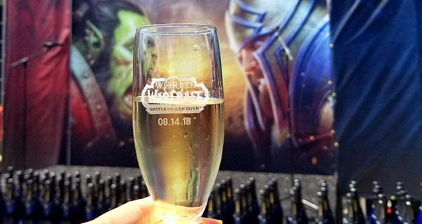 blizzard fete le lancement de battle for azeroth a irvine en californie