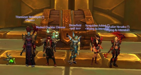 donjons mythiques + : kjell's angels reussi le world first en terminant une cle mythique +15