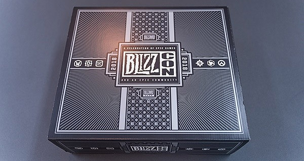 blizzcon 2018 : l'integralite du goody bag revele