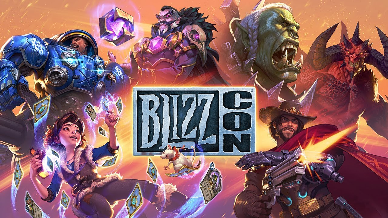 Affiche officielle de la Blizzcon 2018