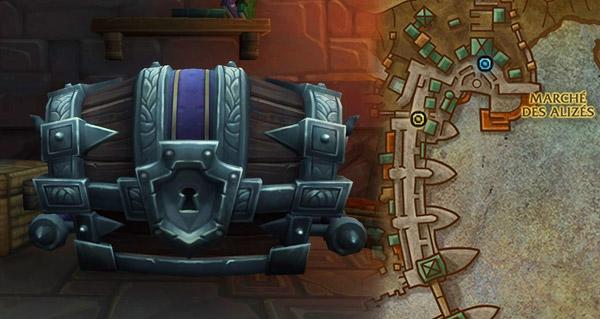 battle for azeroth : les coffres de donjon de cle mythique ajoutes a la beta