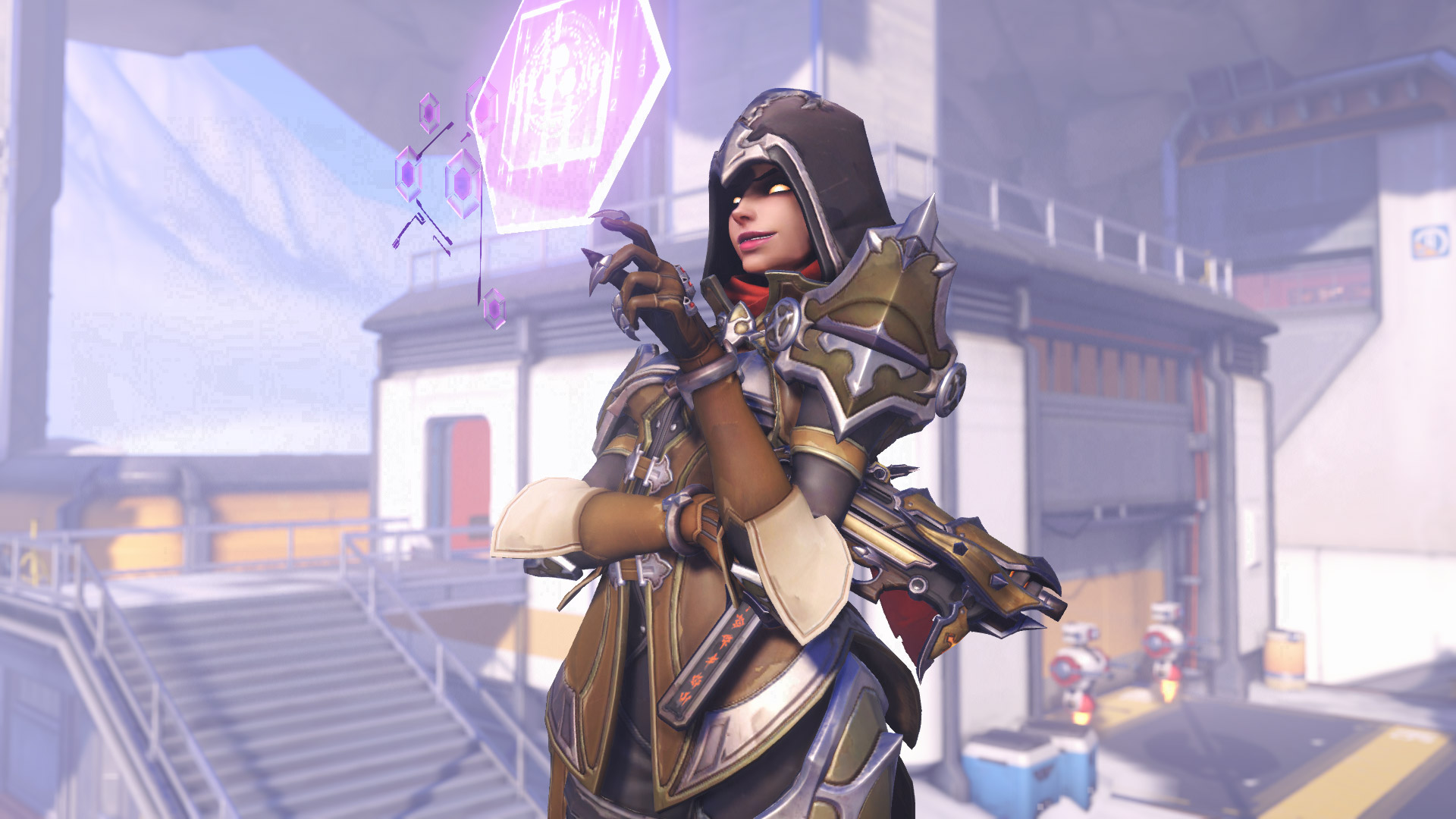 Premier bonus en jeu du billet virtuel : skin légendaire Sombra pour Overwatch