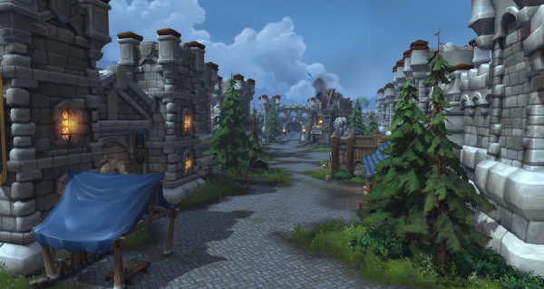 bataille de stromgarde : front de guerre disponible pour l'alliance