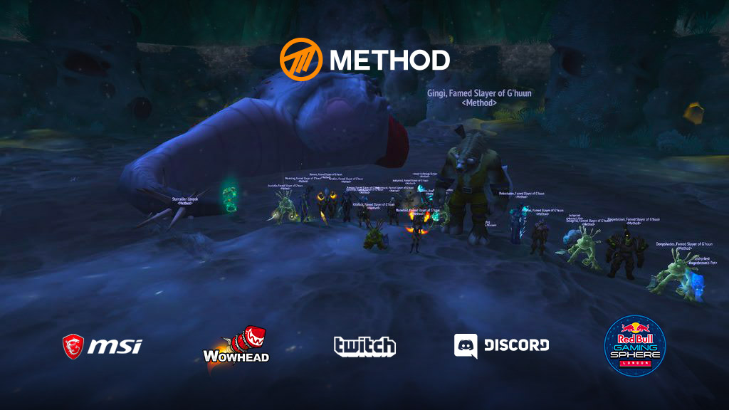 Method décroche le World First sur G'huun dans Uldir (8/8)