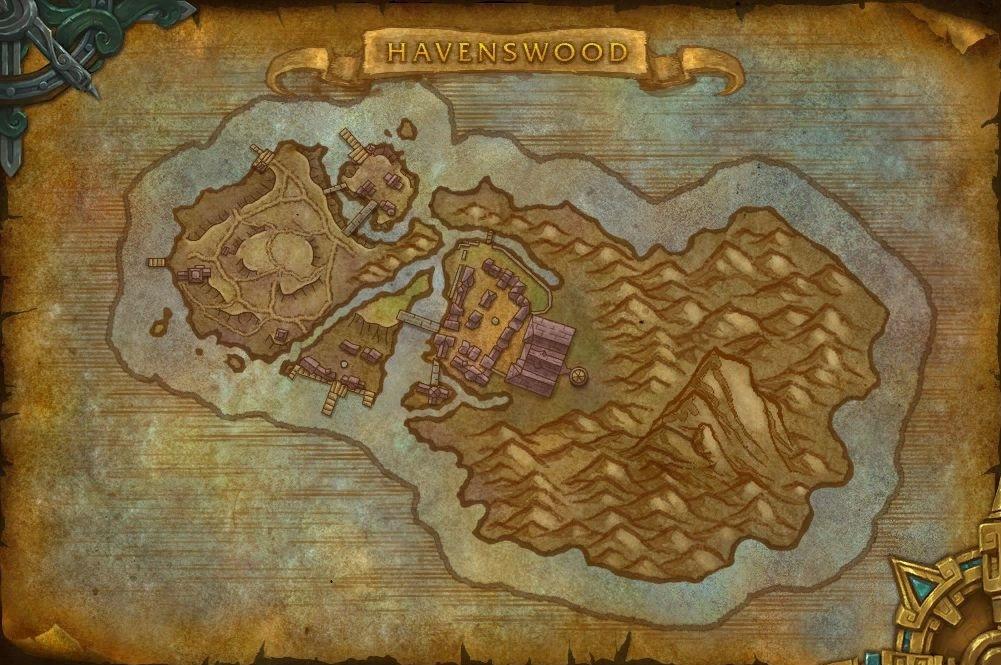 Exploration des îles : Havenswood