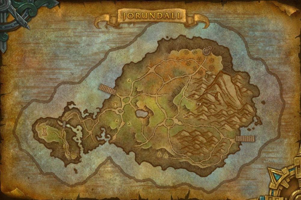 Exploration des îles : Jorundall