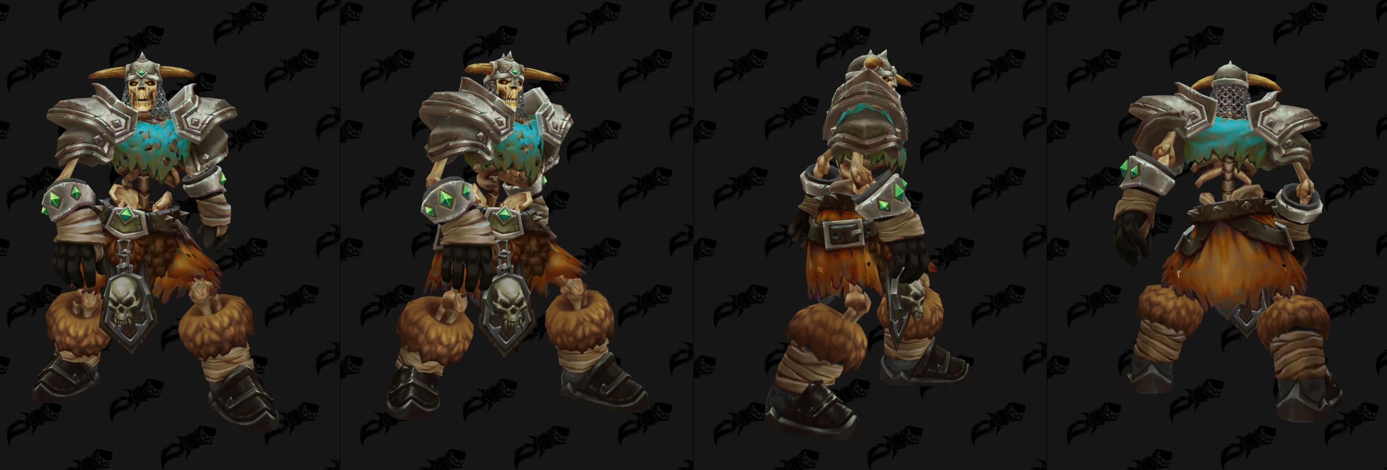 Nouveau modèle de guerrier squelette