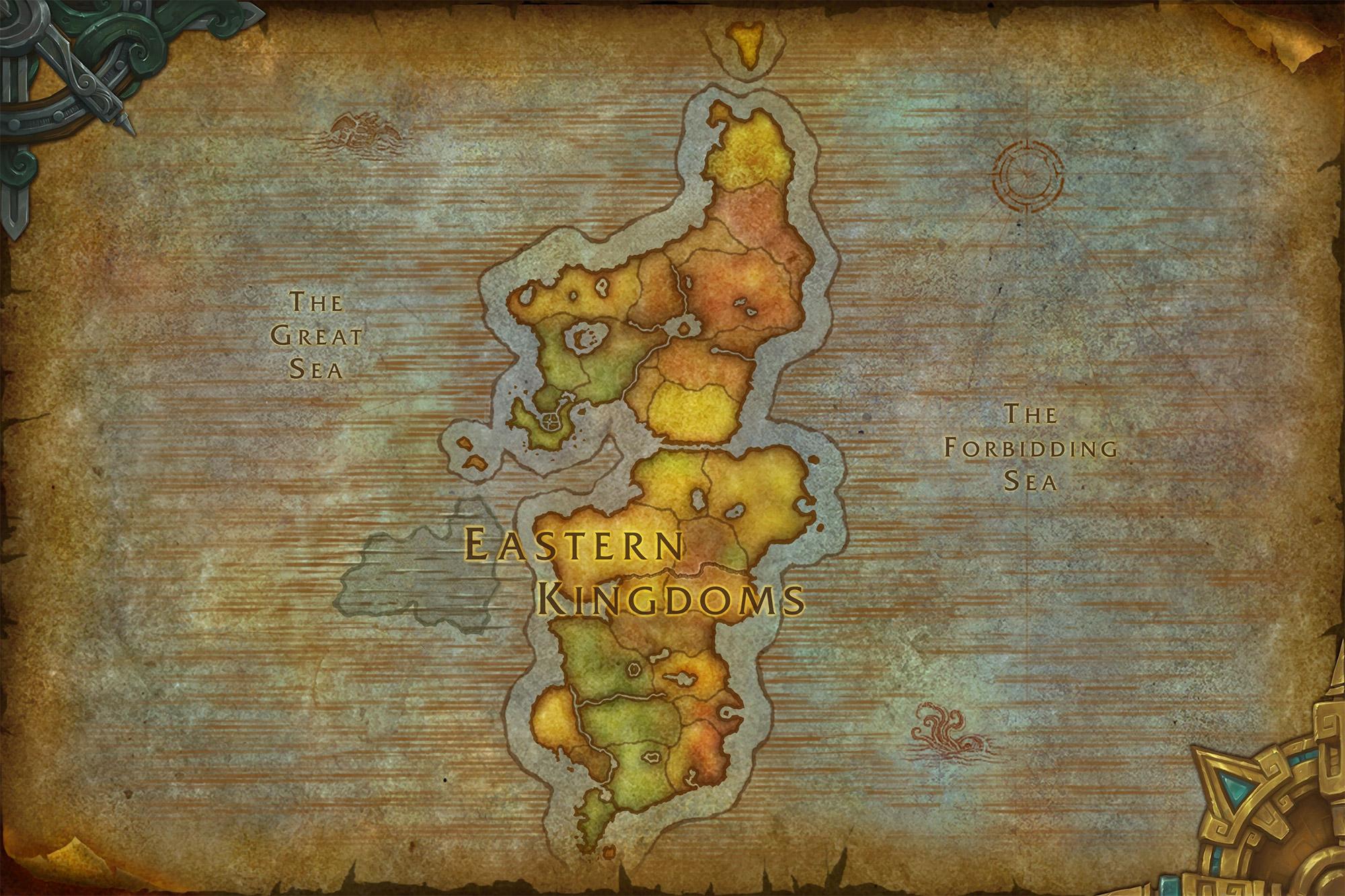 Nouvelle carte des Royaumes de l'Est