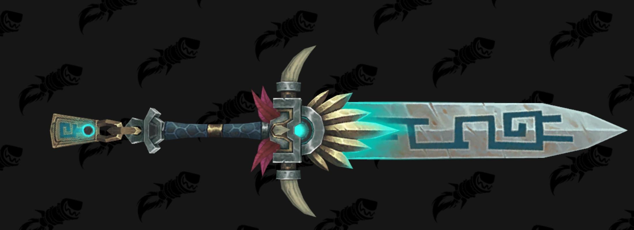 Épée (deux mains) - Siège de Zuldazar