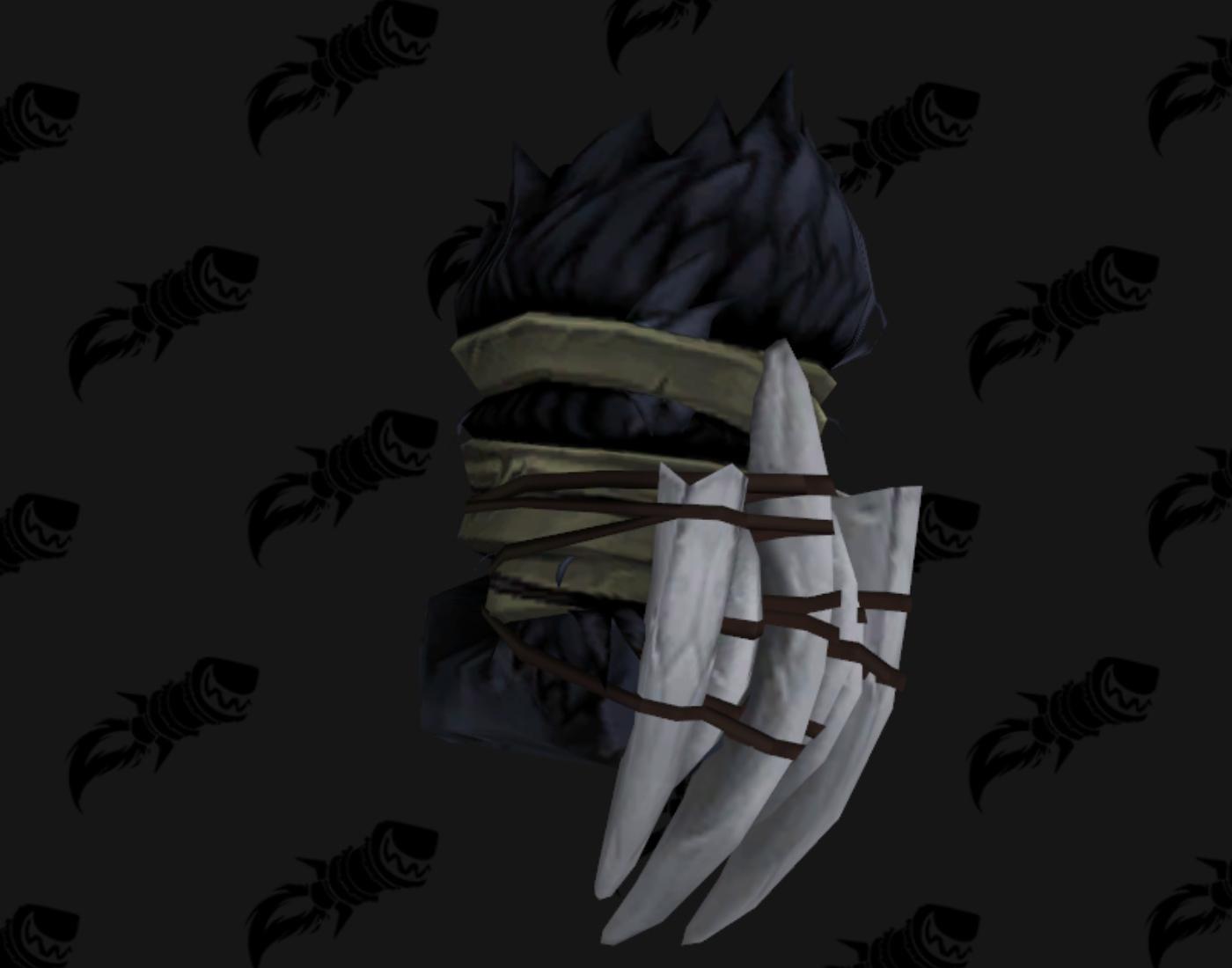 Arme de pugilat - Siège de Zuldazar