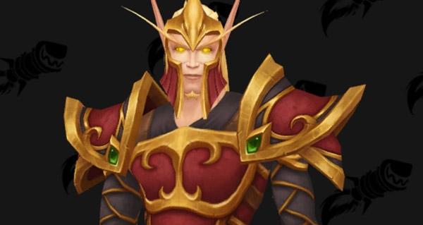 patch 8.1 : nouveaux modeles d'armure des gardes elfe de sang
