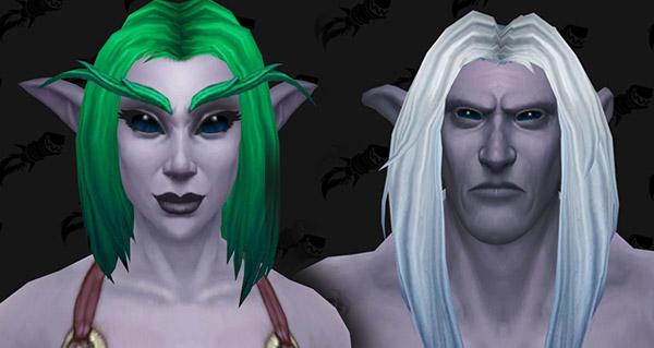 patch 8.1 : nouvelle option de personnalisation pour les elfes de la nuit