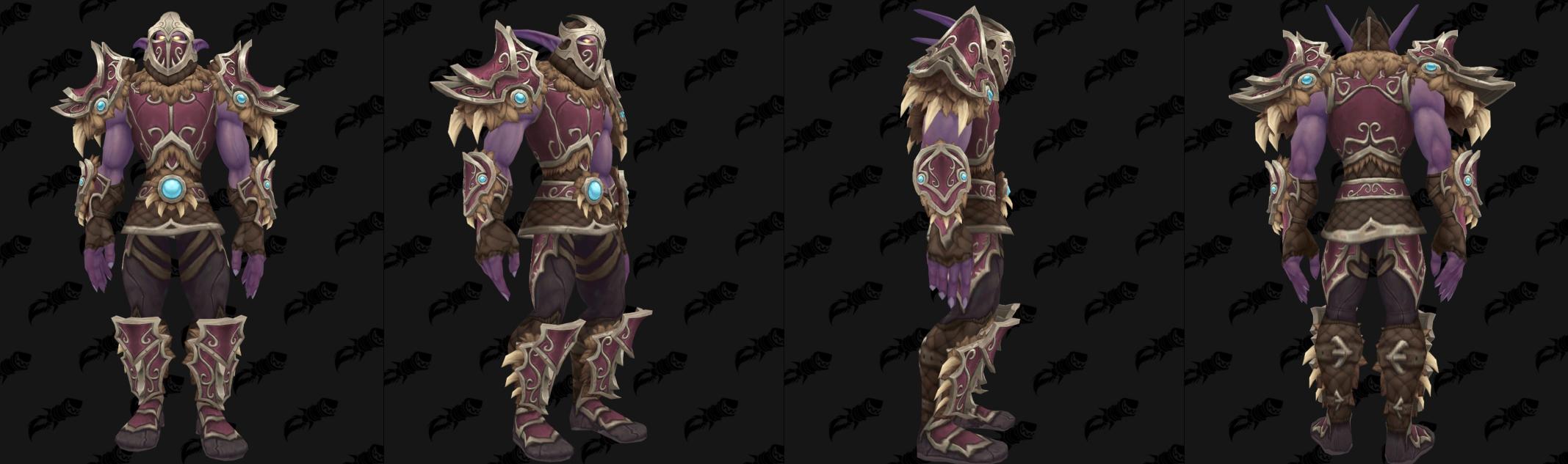 Armure Cuir Alliance - Front de guerre Sombrivage Tier 2