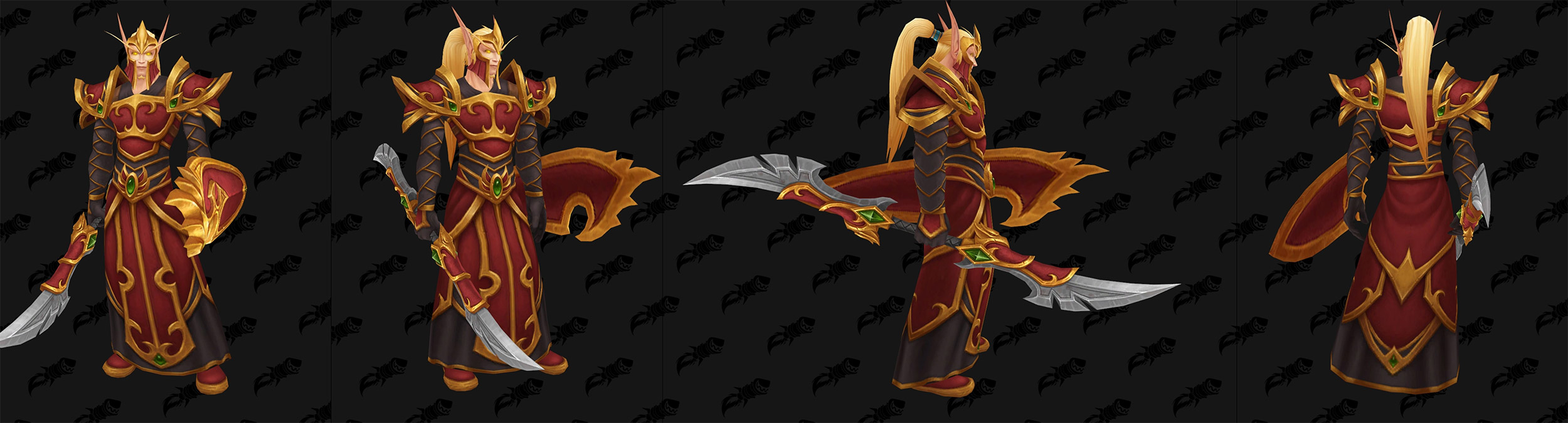 Nouveau modèle de garde Elfes de sang au patch 8.1