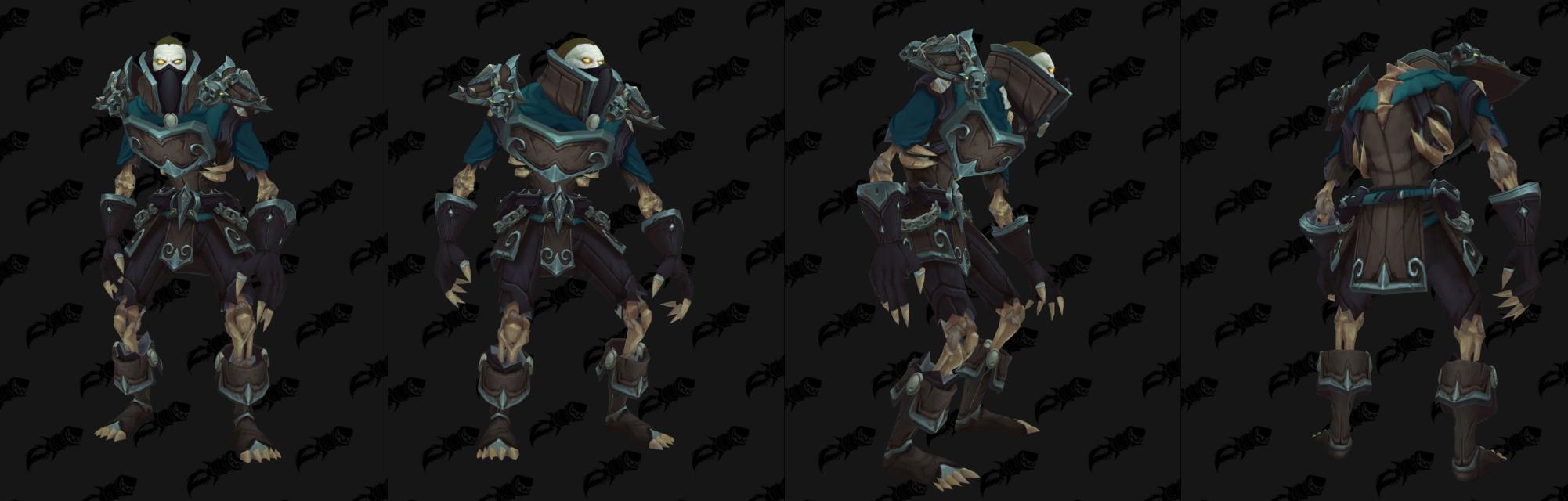Armure Cuir Horde - Front de guerre Sombrivage Tier 1