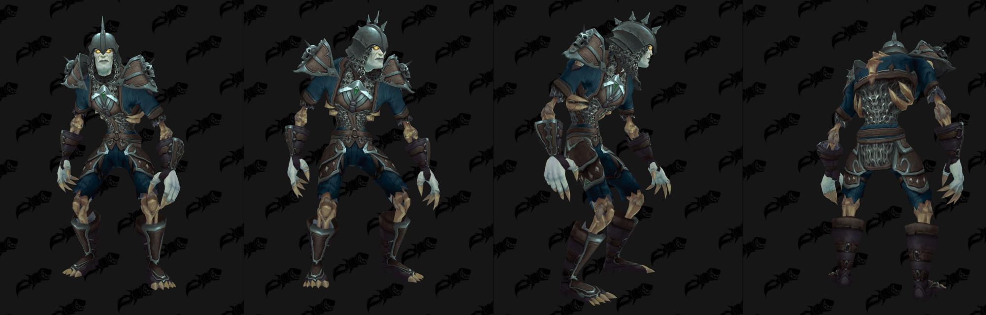 Armure Mailles Horde - Front de guerre Sombrivage Tier 1