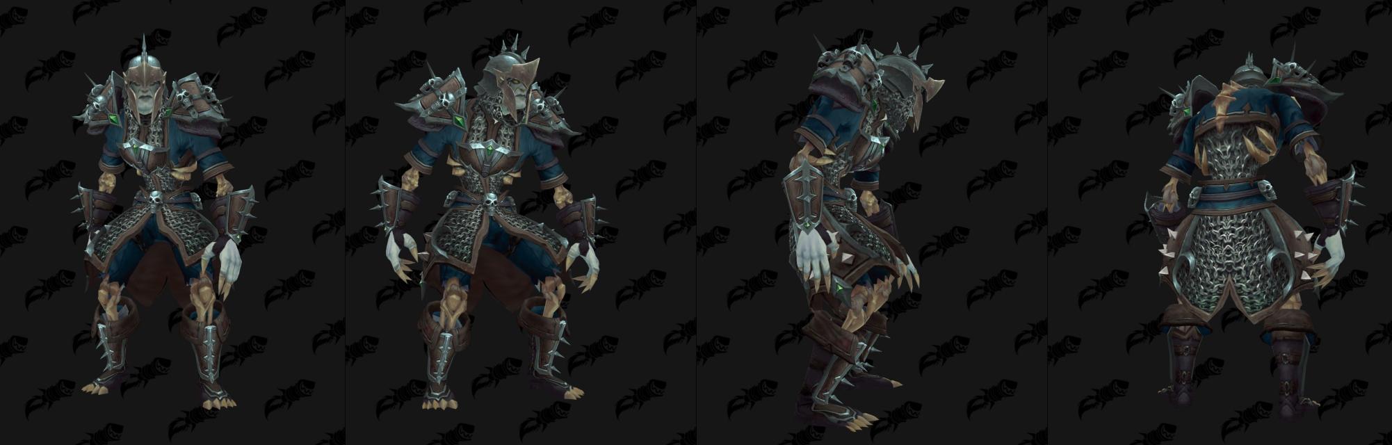 Armure Mailles Horde - Front de guerre Sombrivage Tier 3