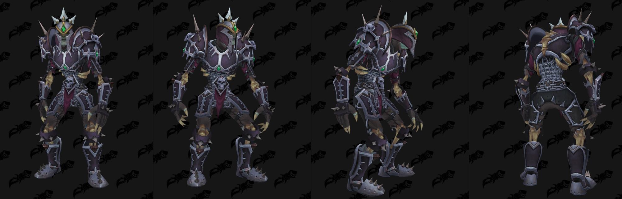 Armure Plaques Horde - Front de guerre Sombrivage Tier 2