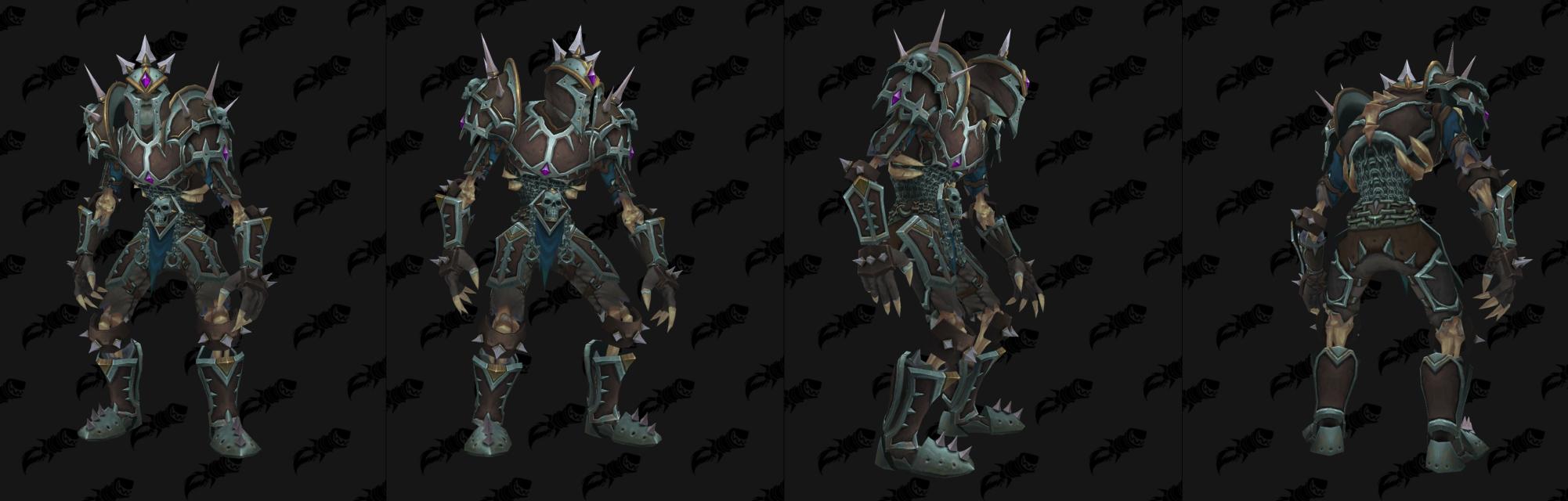 Armure Plaques Horde - Front de guerre Sombrivage Tier 3