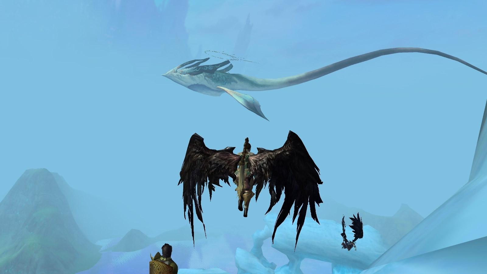 Les ailes de votre personnage vous permettent de découvrir d'autres facettes du jeu