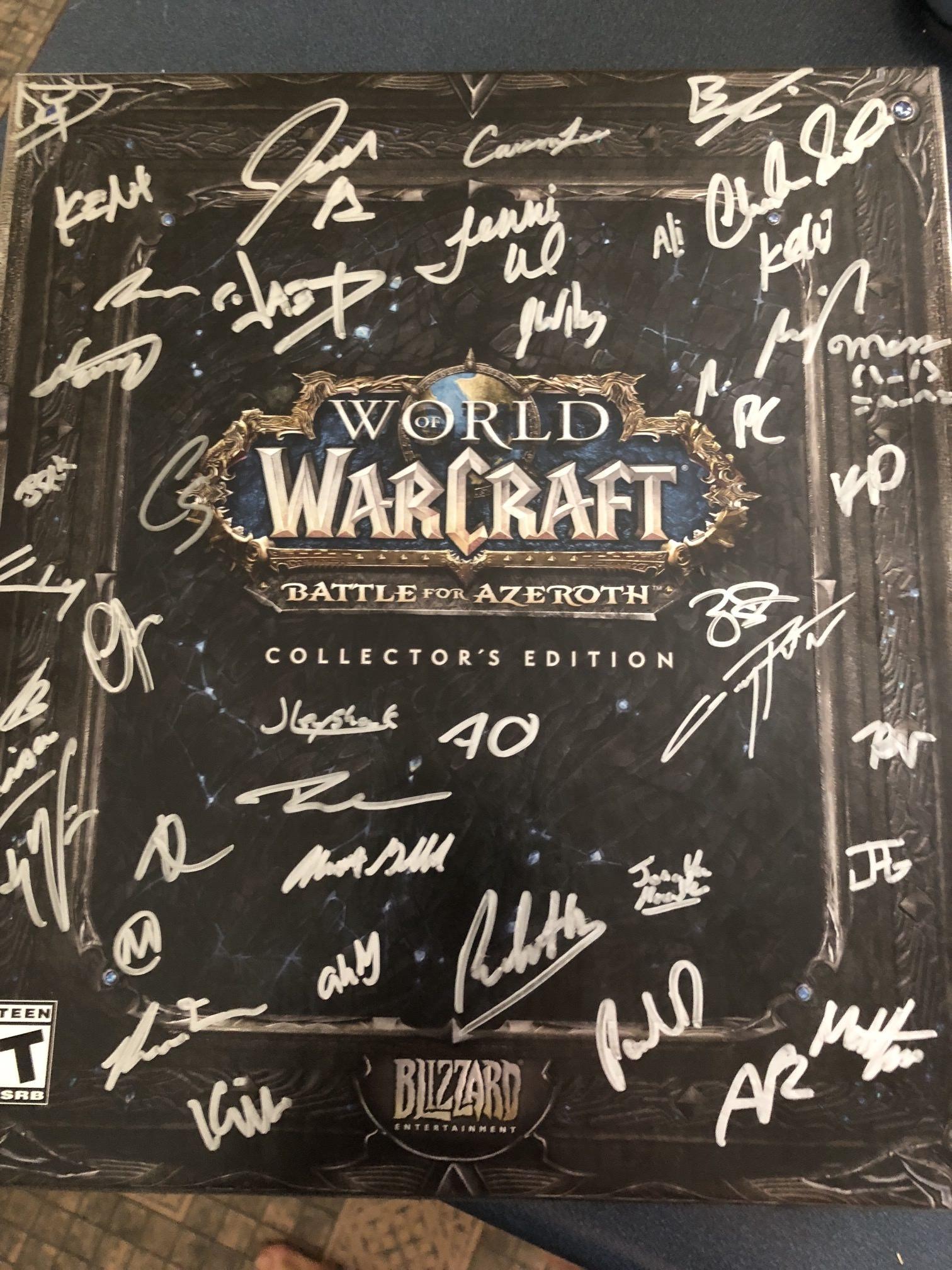 Envoi d'un collector signé