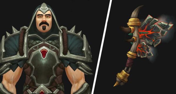 patch 8.1 : ensemble d'armure forestier-sombre et nouveaux modeles d'armes