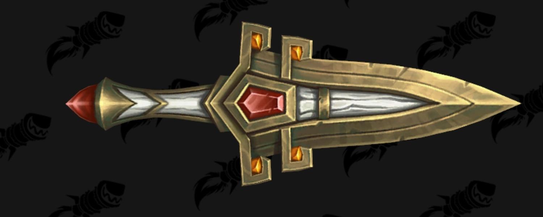 Modèle de dague - Siège de Zuldazar