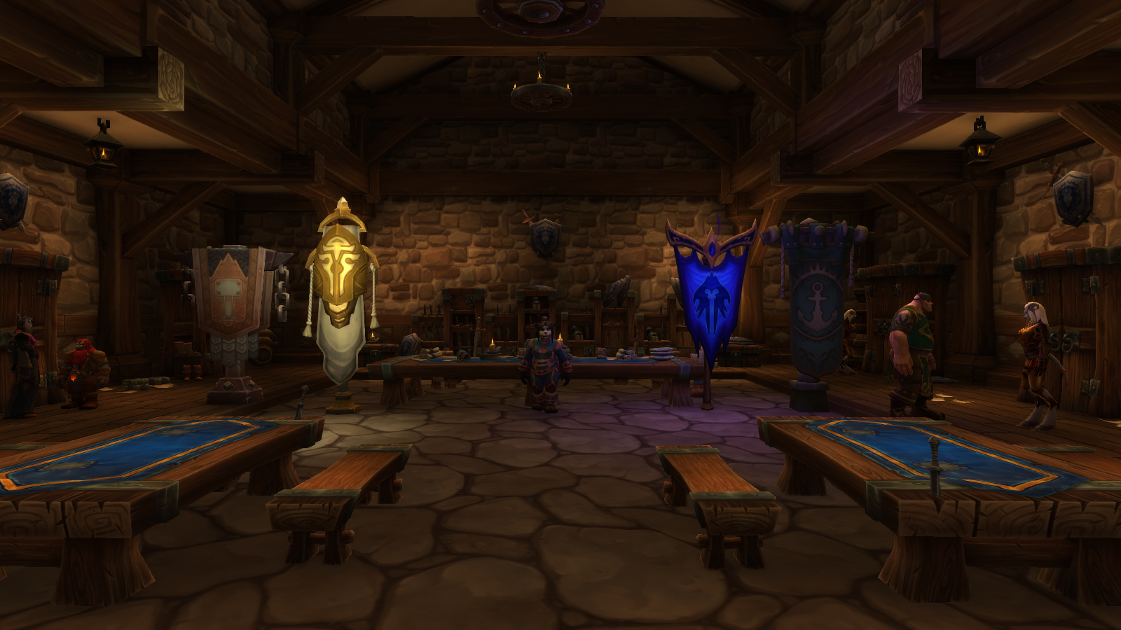Ambassade de l'Alliance au patch 8.2.5